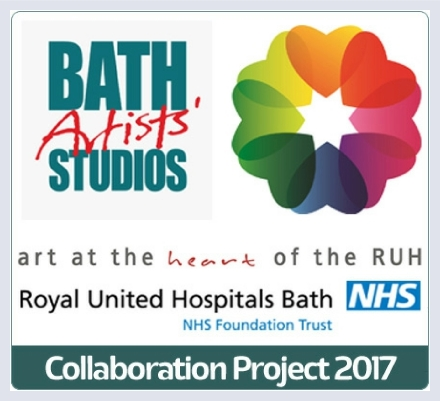 Bath Artists' Studios and Royal United Hospitals Bath - working together