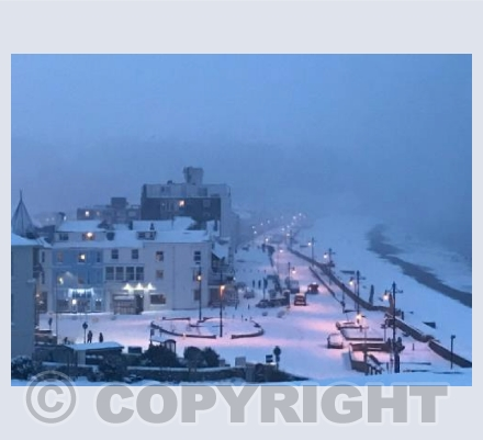 Seaton in the Snow