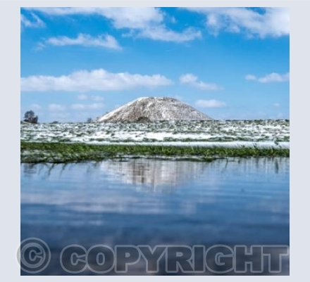 Silbury Winter Reflections
