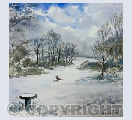 Cornish Snow Scene