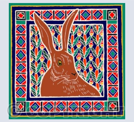 Patchwork Hare