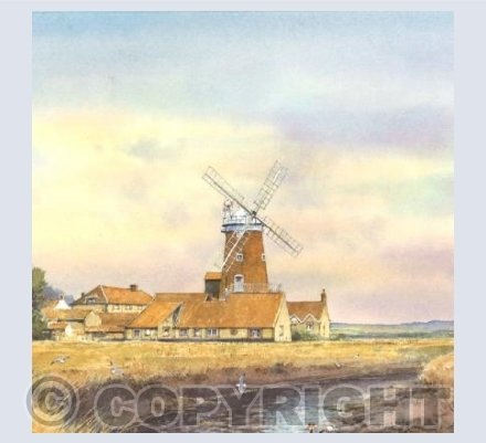 Cley Mill, North Norfolk