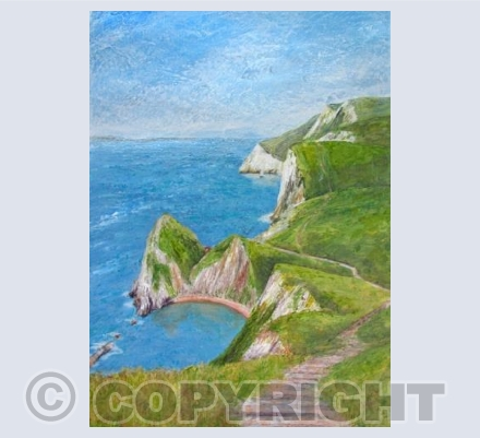 Walk to Durdle Door