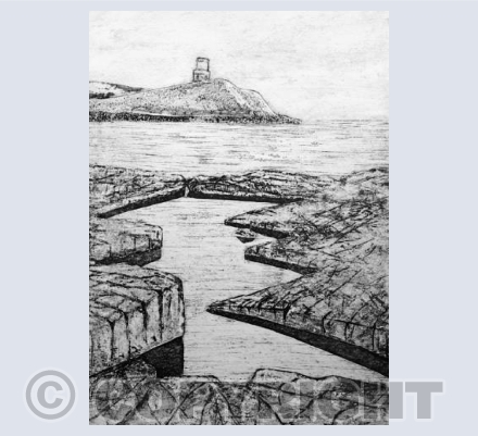 Collagraph Kimmeridge