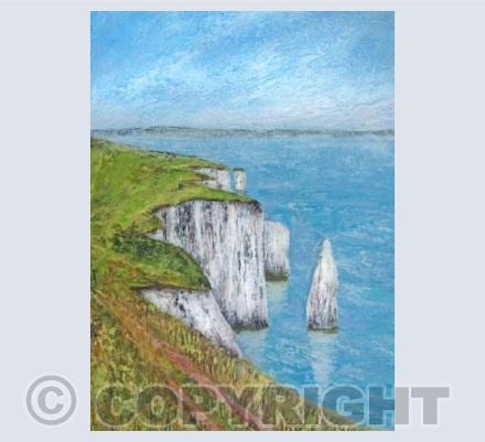 Walk to Old Harry Acrylic
