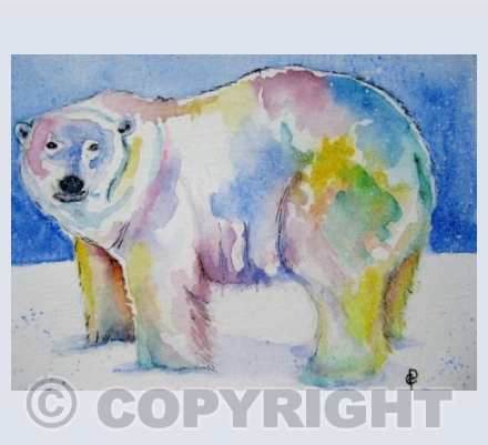 RAINBOW POLAR BEAR