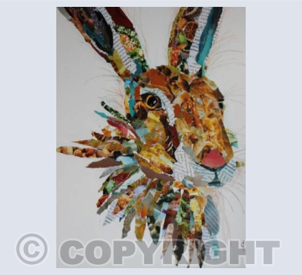COLLAGE HARE