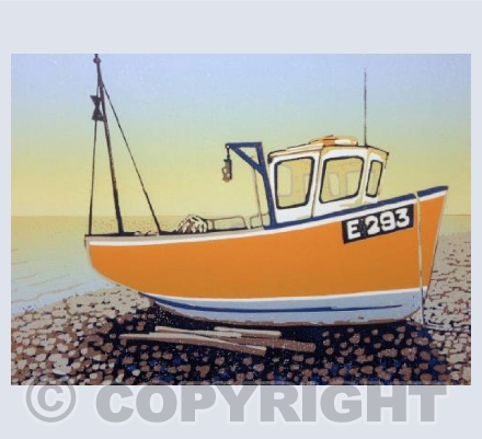 Branscombe Boat Yellow