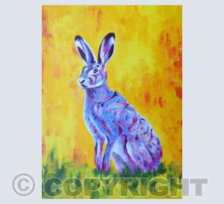 Psychedelic Hare
