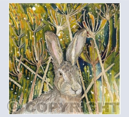 Hare in the Undergrowth