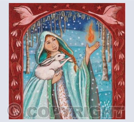 'Brigid Holds the Flame of Re-Birth' | GRG14