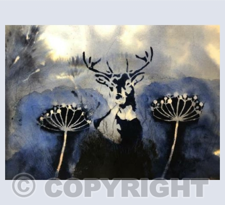 Stag and Seedheads