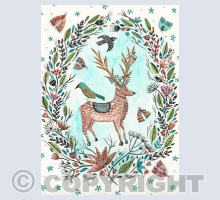 Whimsical Deer