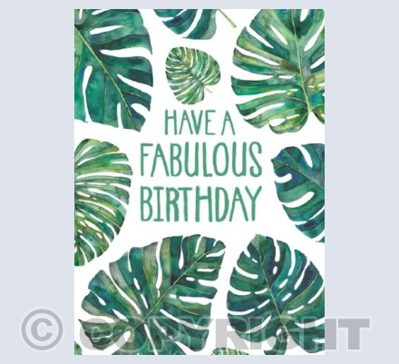 Have A Fabulous Birthday!