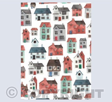 Watercolour Houses
