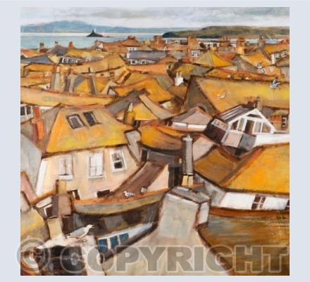 'Roofs of St Ives'