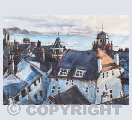 'Roofs of Lyme Regis'