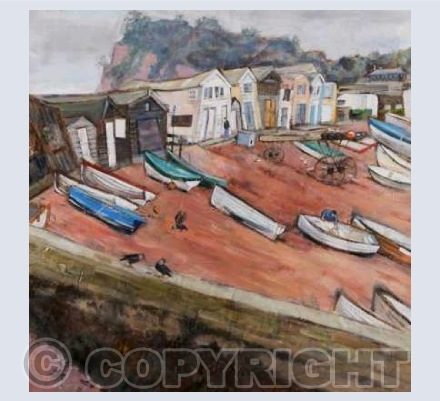 'Teignmouth, Back Beach'
