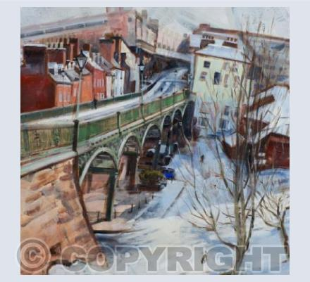 'Exeter, the Iron Bridge'