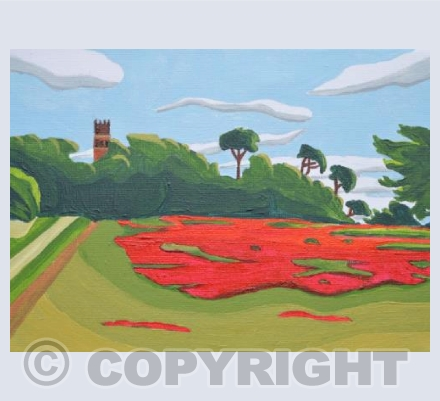 Faringdon Folly Poppies