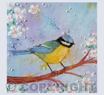 Bluetit and Blossom