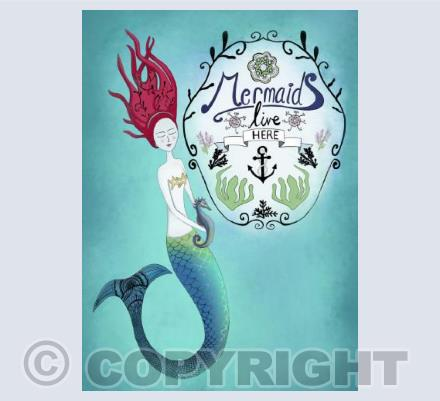 Mermaid's Live Here