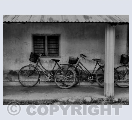School bike shed - Chitwan,Nepal