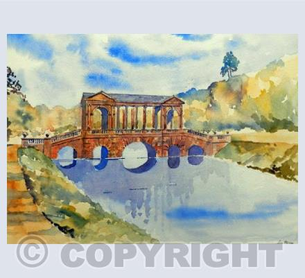 The Palladian Bridge Proir Park Bath