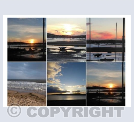 Exmouth & River Exe Sunsets