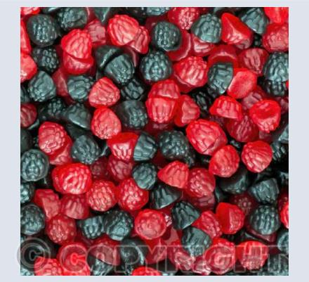 Blackberry & Raspberry Gums