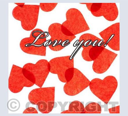 Hearts - Love you!