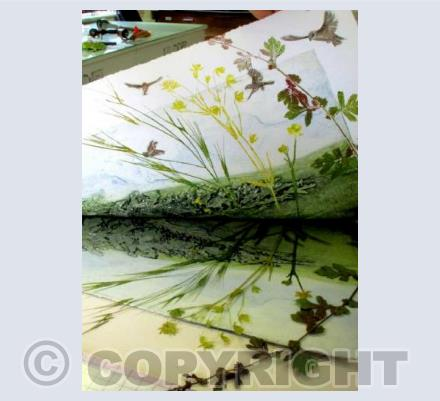 Printing Hedgerow Sparrows