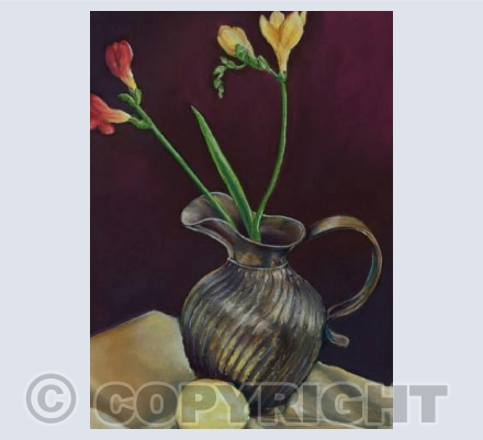Still Life with Freesias