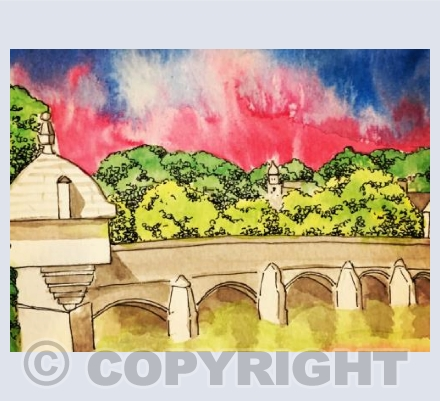 The Town Bridge, Bradford-on-avon