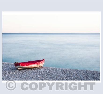 Boat on Chesil Beach