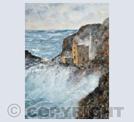 Raging Storm At Botallack