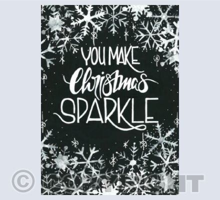 You Make Christmas Sparkle
