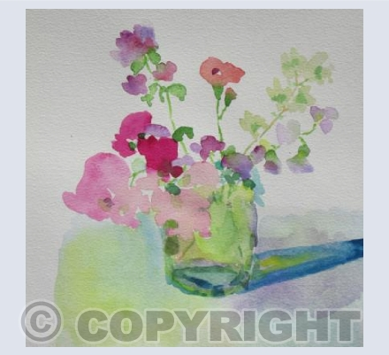 SWEET PEAS & OREGANO