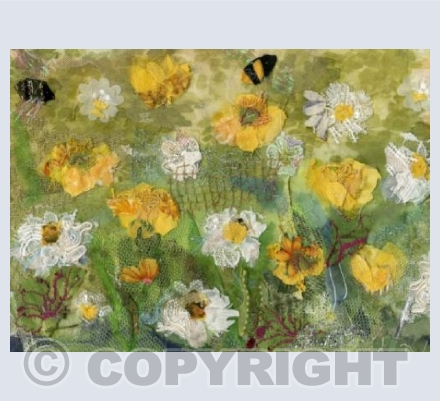 Buttercups, Daisies and Bees