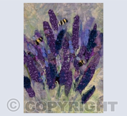 Lavender and Bees 2