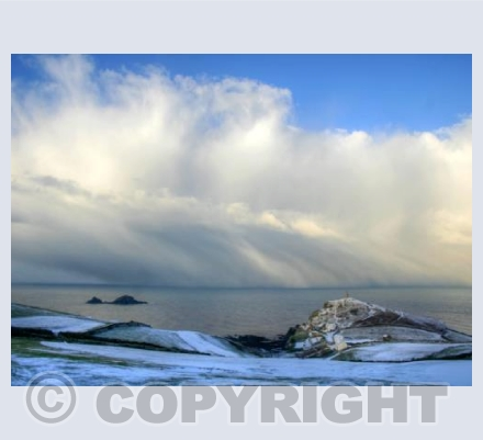 After the snow at Cape Cornwall 2