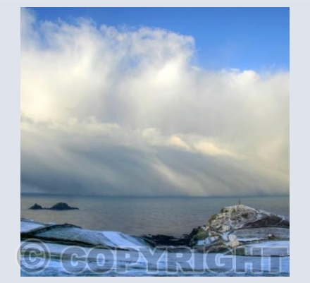 After the snow at Cape Cornwall 2 (square)