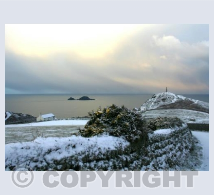 After the snow at Cape Cornwall 4