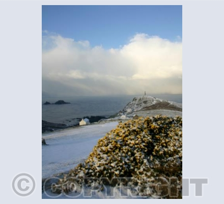 After the snow at Cape Cornwall 3 (portrait)