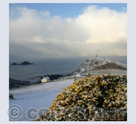 After the snow at Cape Cornwall 3 (square)