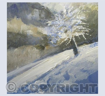 The Old Apple Tree in the Snow