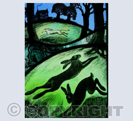 Running through the night