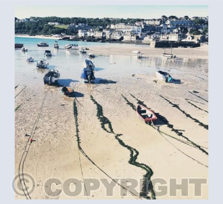 St Ives Boat Ropes