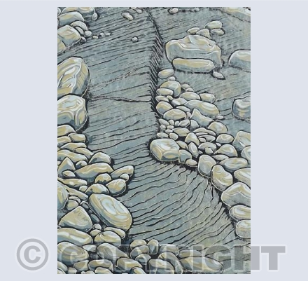 Kilve Beach - Rocks and shale