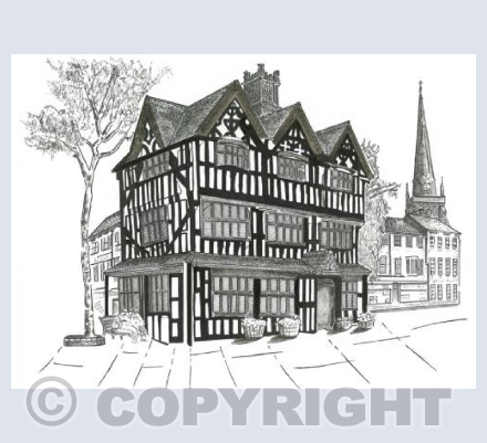 The Black and White House - Hereford